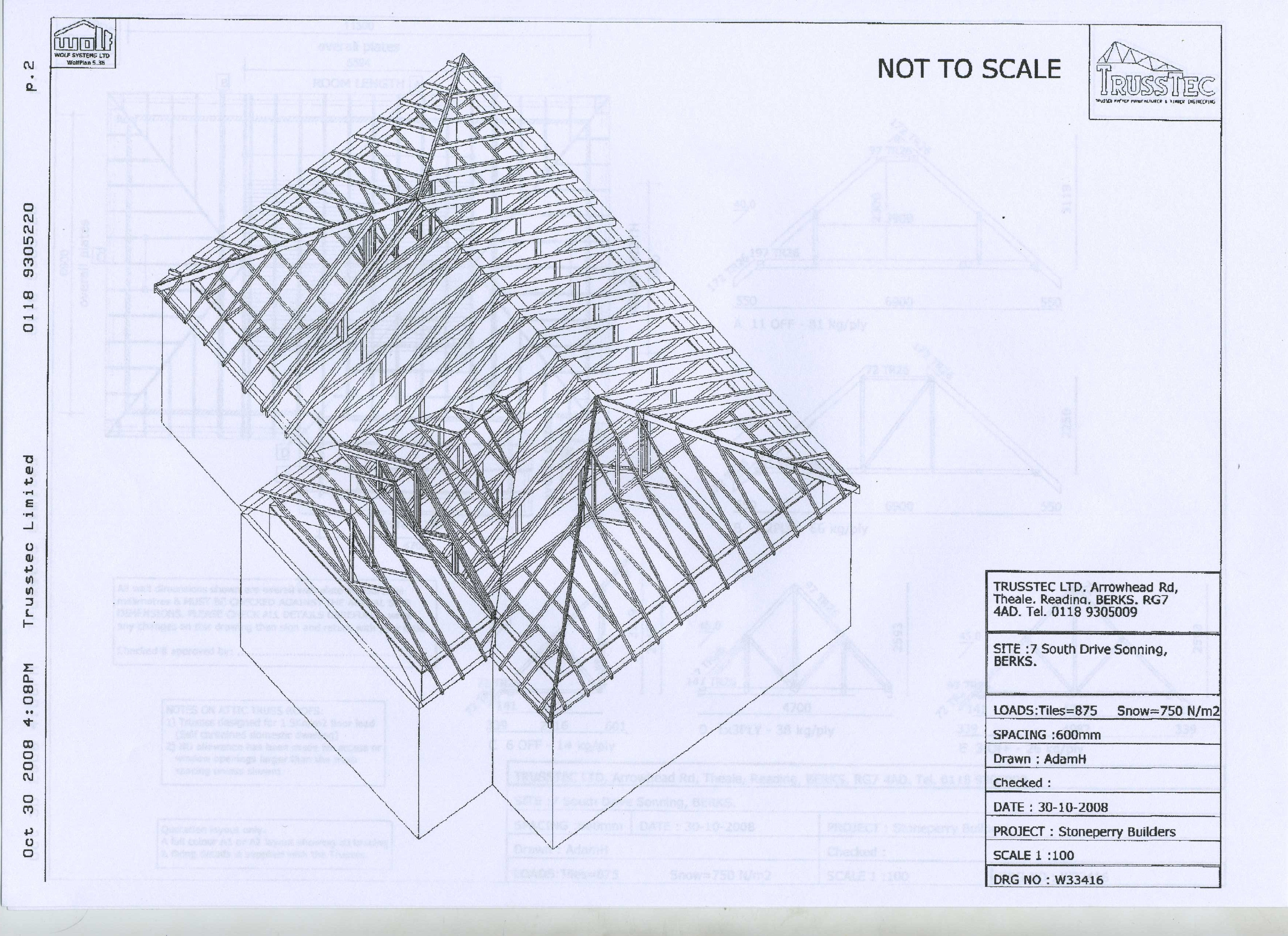 Roof plans part 2 roof plans and elevations u2013 for Roof plans